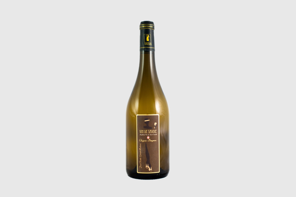 Chignin bergeron wine is notable for its golden colour and fruity aromas.